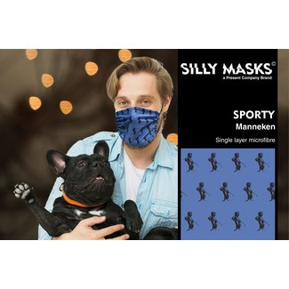Silly Masks Mundmaske Manneken Pis