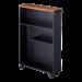 Yamazaki  Storage Cart Tower - black