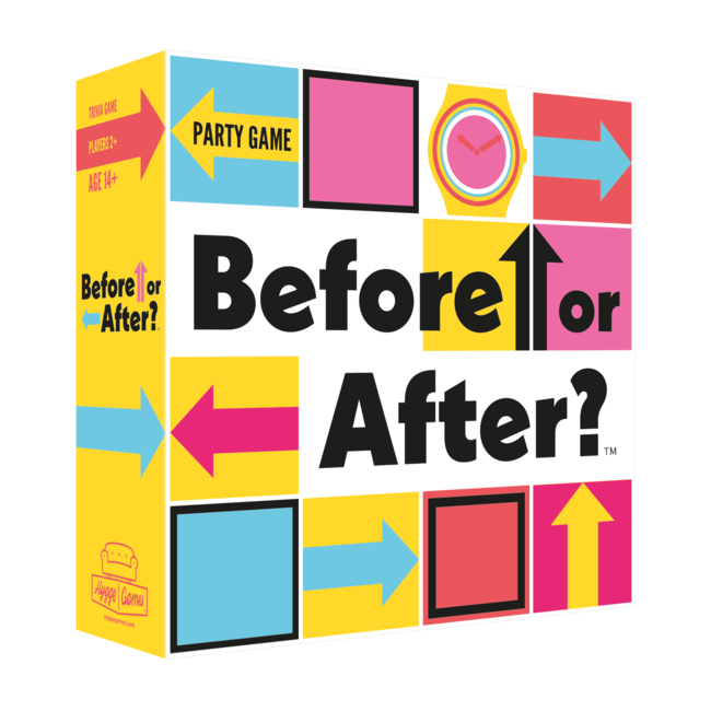 Hygge Games - Party Game Before Or After? - in het Engels
