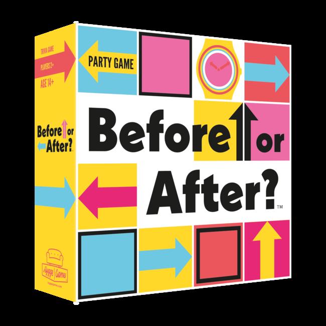 Hygge Games - Partyspiel Before Or After? - auf Englisch