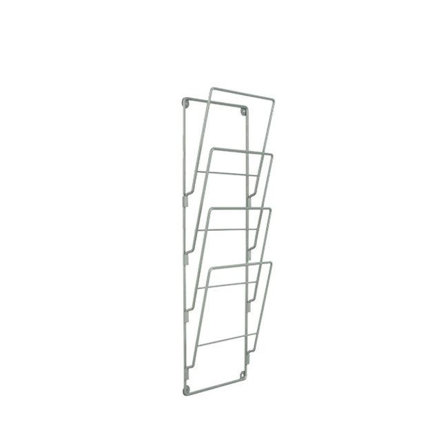 Present Time - Wand-Magazinehouder Steel Wire - mat jungle groen
