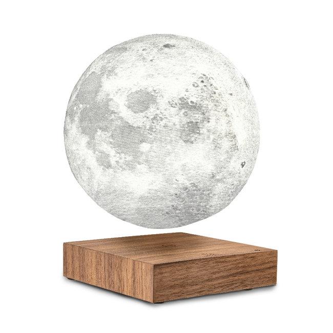Gingko - Smart Moon Lamp - notenhout