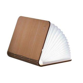 Gingko Smart Book Light - small - Ahornholz