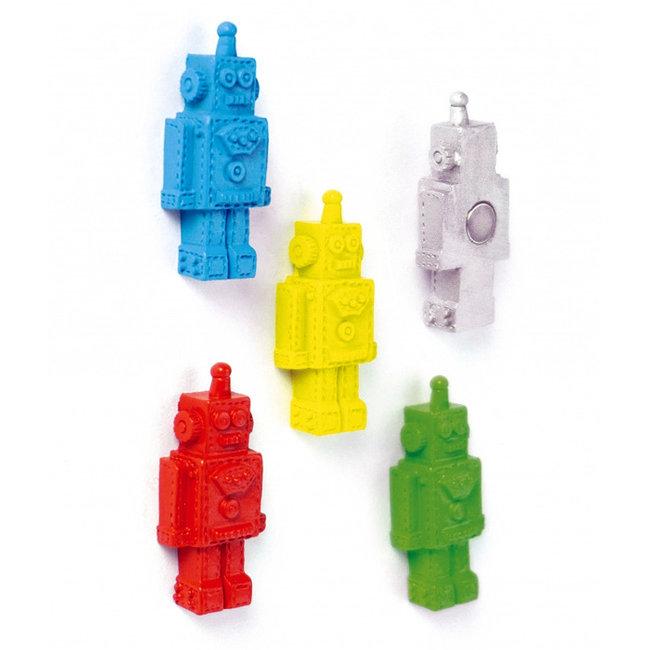 Trendform - Aimants Robot - ensemble de 5