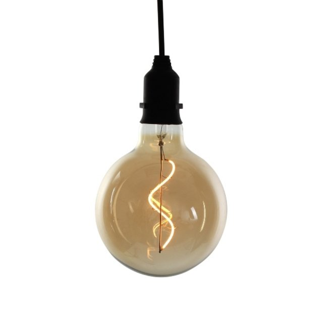 Werner Voss - Hanging LED Light - batteries - indoor & outdoor- amber finish