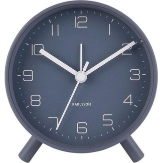 Karlsson Alarm Clock Lofty - Blue