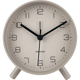 Karlsson Alarm Clock Lofty -  grey