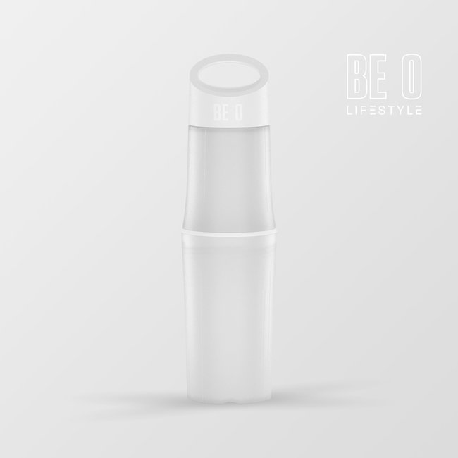 BE O Lifestyle Wasserflasche BE O bottle - weiß