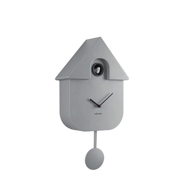 Karlsson Pendule à Coucou Cuckoo House - Gris