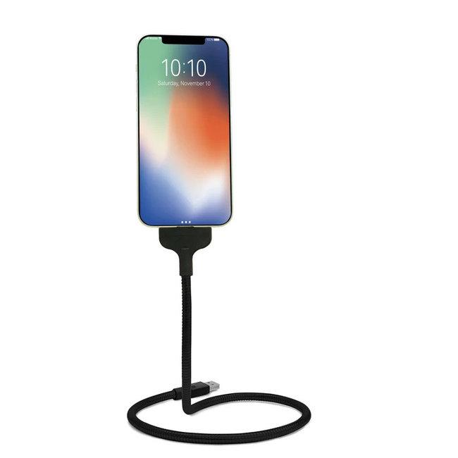 Kikkerland - Gooseneck Oplaadstandaard Smartphone