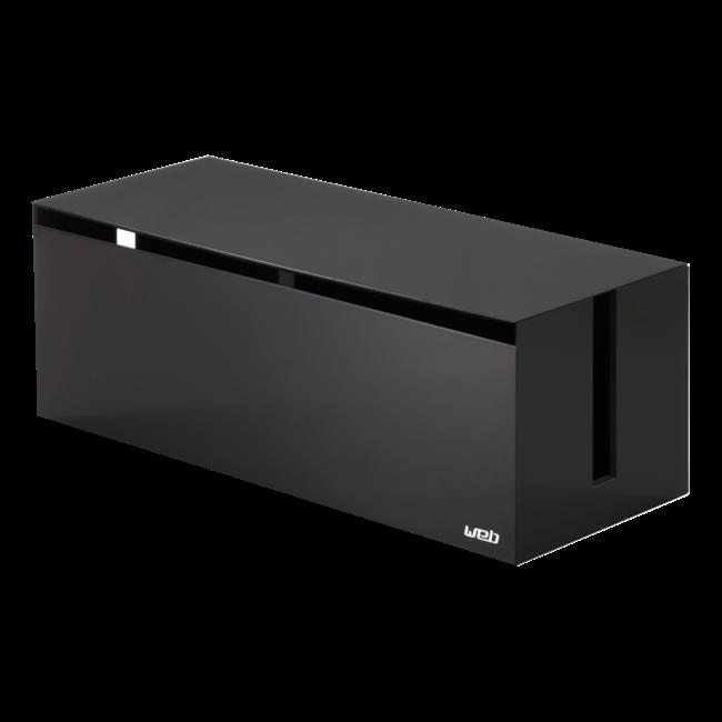Yamazaki- Kabelbox - schwarzbraun
