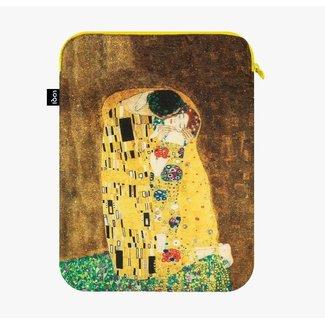 Loqi Housse pour Ordinateur Portable The Kiss - Gustav Klimt