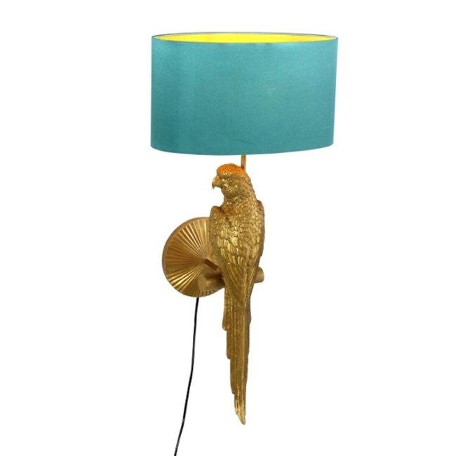 Werner Voß - Lampe Murale - Lampe Animale - Perroquet Percy - H 70 cm