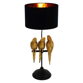 Werner Voß Table Lamp Budgie Timmy, Tommy & Tammy
