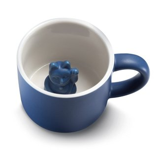Donkey Mug Lucky Cat Maneki-Neko