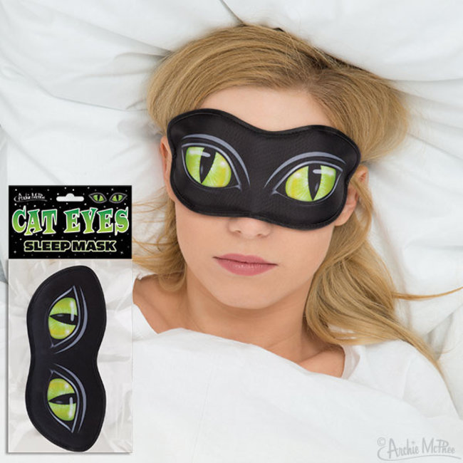 Sleep Mask Cat Eyes