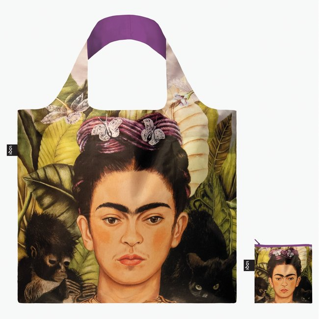 LOQI Tote bag - foldable - Frida Kahlo