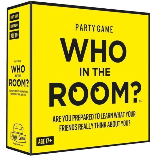 Hygge Games - Partyspiel Who In The Room - auf Englisch