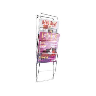 Present Time Wand-Magazinehouder Steel Wire - chroom
