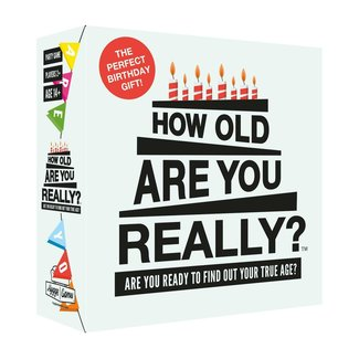 Hygge Games Party Game - How old are you really? -  auf Englisch