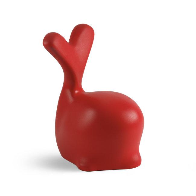 Werkwaardig - Kinderstoel - Kruk Walvis - rood - H 56 cm