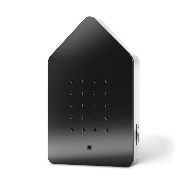 Zwitscherbox - Birdybox - mat zwart - 20 sec. - oplaadbaar