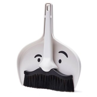 Peleg Design Mini Dustpan and Brush Set Dustache