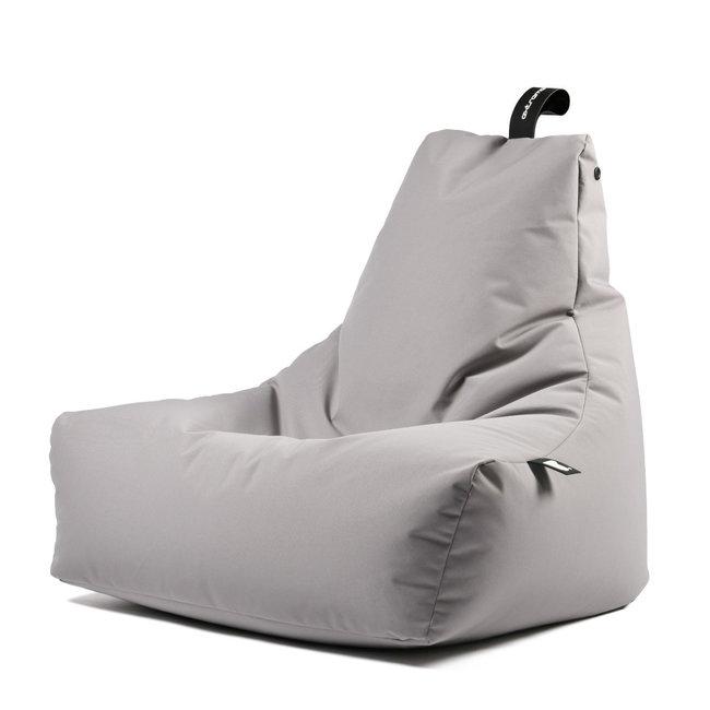 Extreme Lounging - Sitzsack B-Bag Mighty-B - outdoor silbergrau