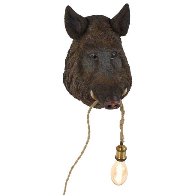 Werner Voß - Lampe Murale - Lampe Animale - Sanglier Willy