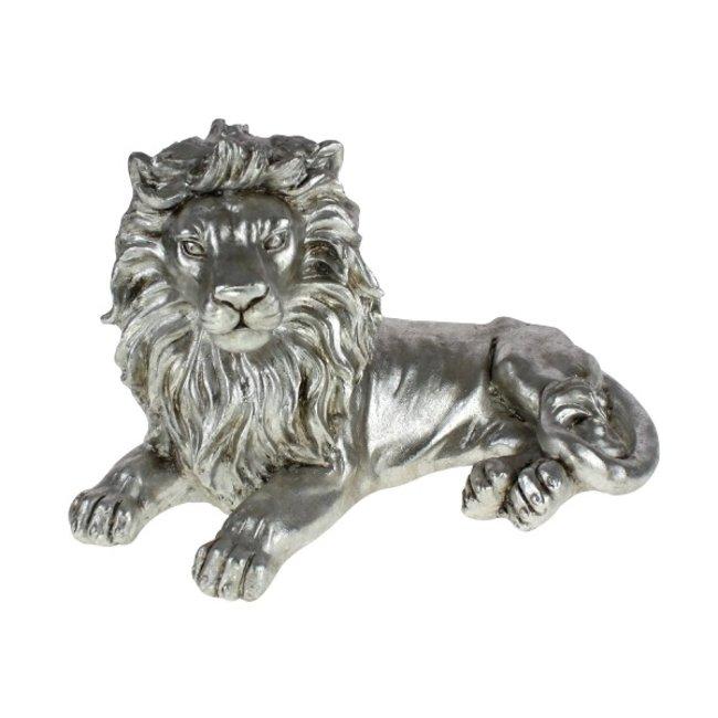 Werner Voß - Animal Figurine Lion - lying - W 52 cm