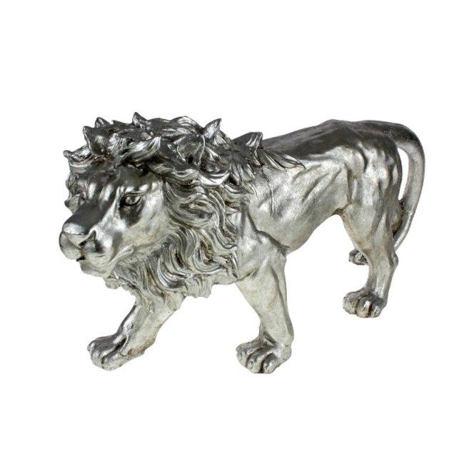 Werner Voß - Animal Figurine Lion - standing - W 77 cm