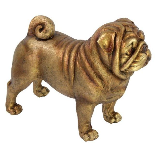 Skulptur Mops Hund