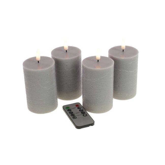 Werner Voß - LED Candles 3D Flame - set of 4