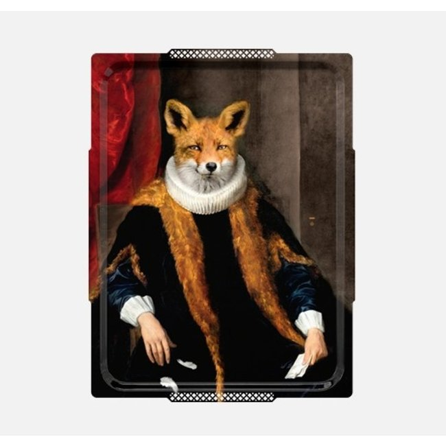 Ibride - Tablett / Gemälde - Fuchs Le Goupil - XL