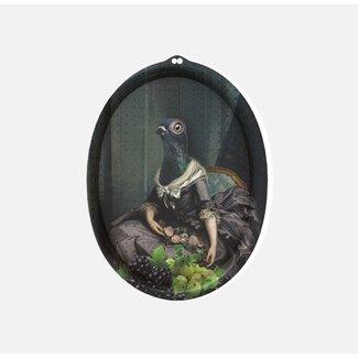 Ibride Tray / Wall Art  - Dove Isild