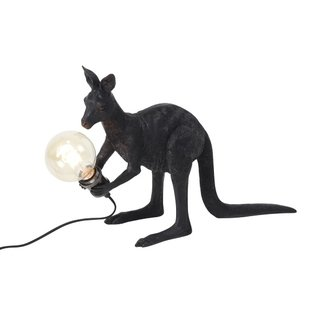 Werner Voß Lampe de Table Kangourou Skippie - noir