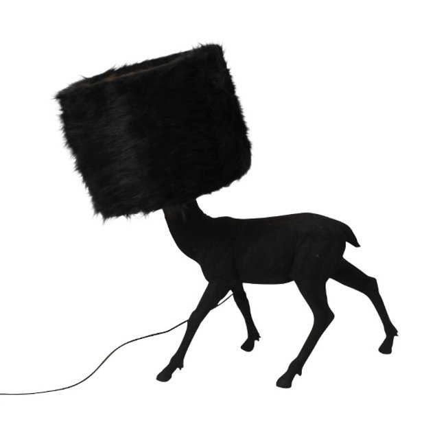 Werner Voß - Lampe de Table Mon Nom est Cerf - noir