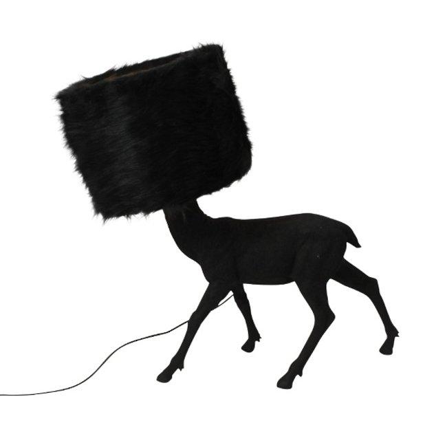 Werner Voß - Table Lamp Deer is my Name - black