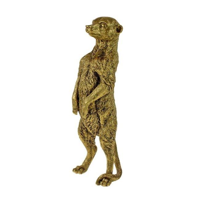 Werner Voß - Sculpture Meerkat Eddy - H 46 cm
