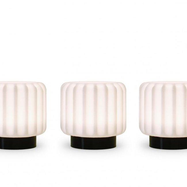 Atelier Pierre - Lampe de Table Dentelles 9 - lot de 3 - rechargeable - dimmable