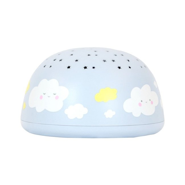 Music Star Projector Cloud - children's lamp with music and projection