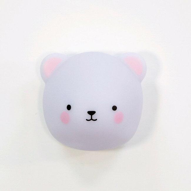 Lampe à LED Murale Bébé Ours - magnétique - facile à déplacer