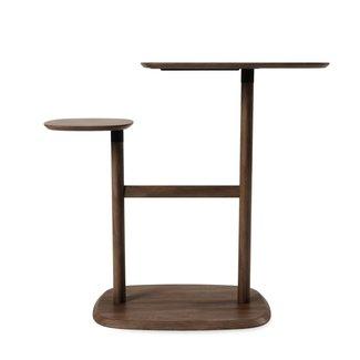 Umbra Table d'Appoint Swivo - noyer