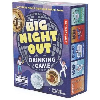 Kikkerland Party Game - Big Night Out -  in English