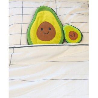 Bitten Warming Pillow avocado