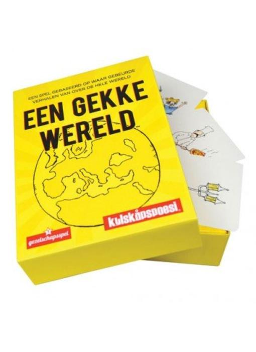 Party Game 'Un Monde Fou' (version néerlandaise)