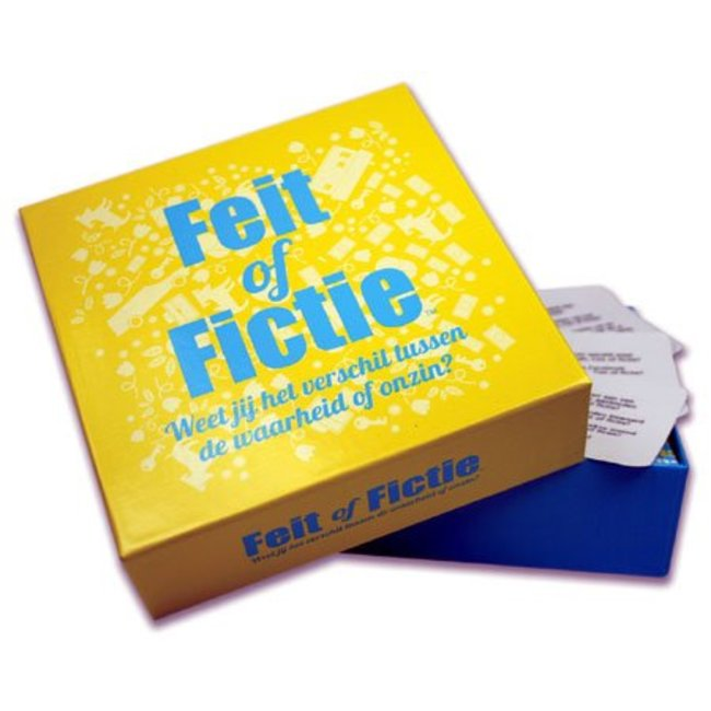 Party Game 'Réalité ou Fiction' (version néerlandaise)