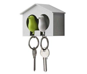 Sleutelhouder met 2 sleutelhangers 'Sparrow'