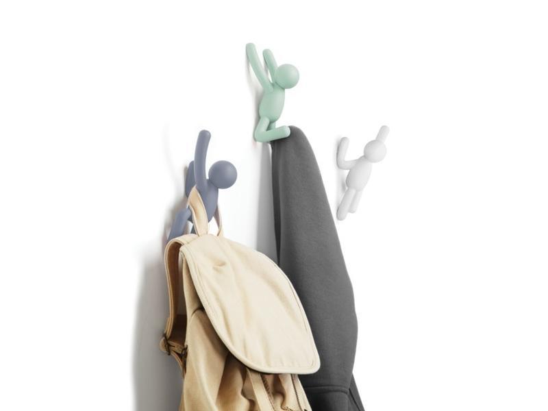Umbra Wall Coat Rack 'Buddy Hooks (3 colors)