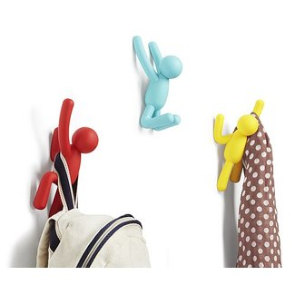 Umbra Wall Coat Rack 'Buddy Hooks' (multicolor)